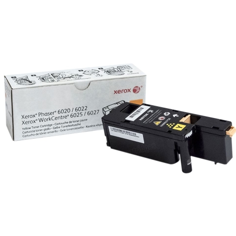 106R02758 Toner Cartridge - Xerox Genuine OEM (Yellow)