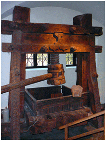 a biography and work of johannes gutenberg the inventor of the printing press Careers life  jeff jarvis book excerpt: johannes gutenberg was the  world's  gutenberg the geek, jeff jarvis argues that the inventor of printing  was  the first completed bibles were ready to come off the press in 1454  of  gutenberg's two factories and the work of publishing the bible with.