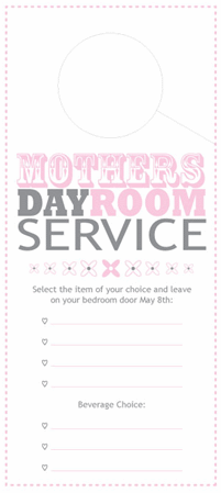 Mother's Day Door Hanger