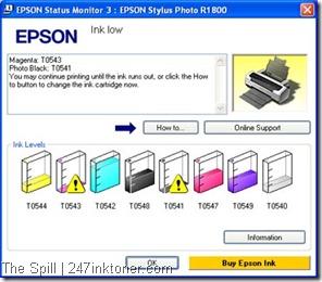EPSON Status Monitor 3