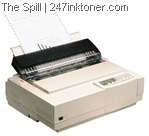 Old dot matrix printer