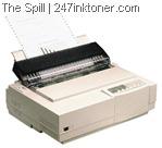 Old dot matrix printer