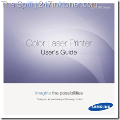 Samsung CLP-310 Toner Printer Manual