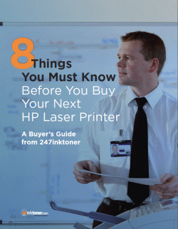 8 Things You Must Know Before You Buy Your Next HP Laser Printer