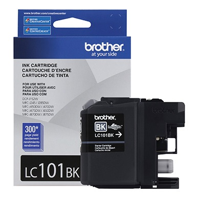 Genuine Brother LC101BK Black Ink Cartridge