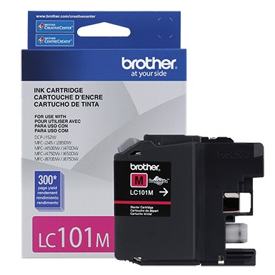 Genuine Brother LC101M Magenta Ink Cartridge
