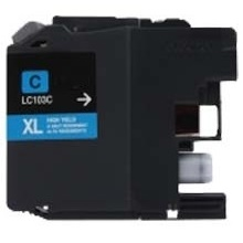 LC103C Ink Cartridge - Brother Compatible (Cyan)