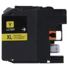LC103Y Ink Cartridge - Brother Compatible (Yellow)