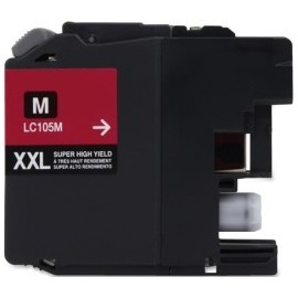 LC105M Ink Cartridge - Brother Compatible (Magenta)