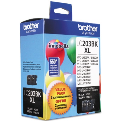 LC2032PKS Ink Cartridge - Brother Genuine OEM (Multipack)