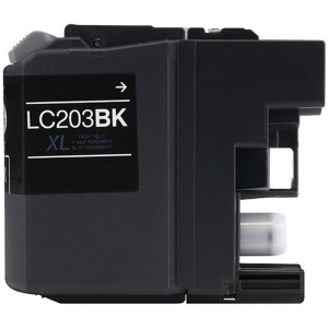 LC203BK Ink Cartridge - Brother Compatible (Black)