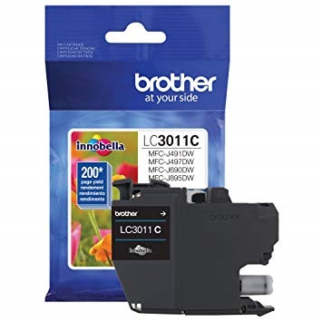 LC3011C Ink Cartridge - Brother Genuine OEM (Cyan)