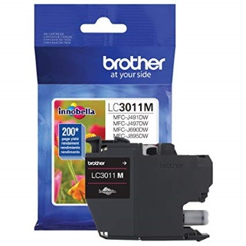LC3011M Ink Cartridge - Brother Genuine OEM (Magenta)