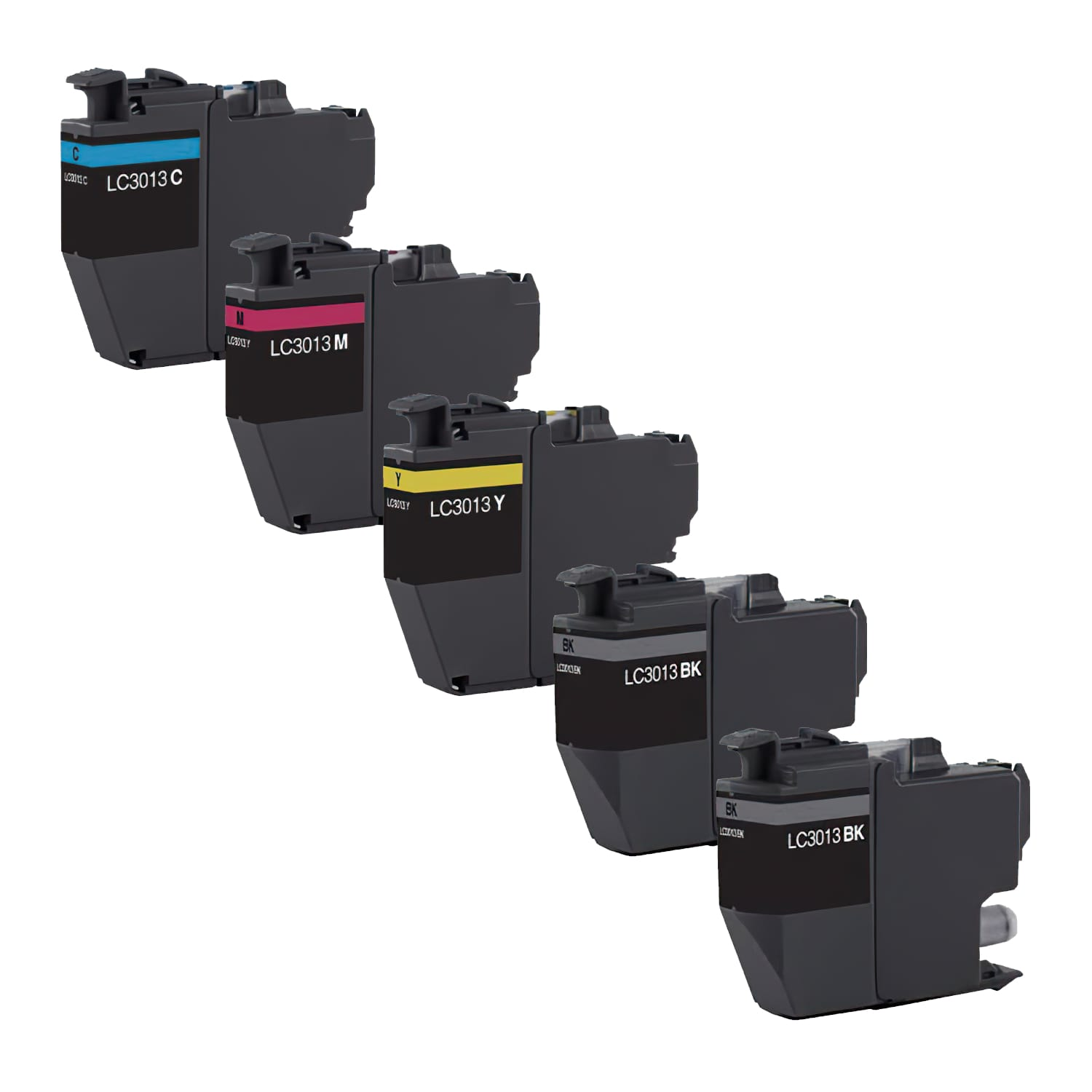 Compatible Brother LC3013 Inkjet High Capacity Pack - 5 Cartridges