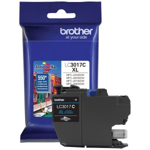 LC3017C Ink Cartridge - Brother Genuine OEM (Cyan)