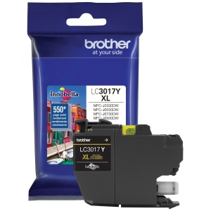 LC3017Y Ink Cartridge - Brother Genuine OEM (Yellow)