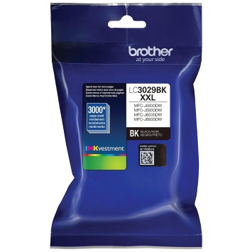 LC3029BK Ink Cartridge - Brother Genuine OEM (Black)