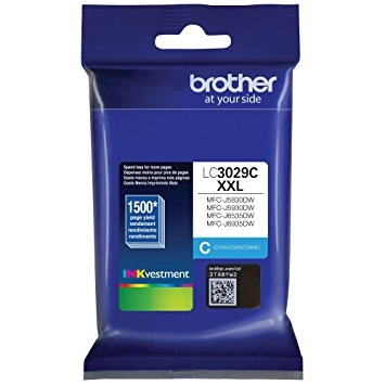 LC3029C Ink Cartridge - Brother Genuine OEM (Cyan)