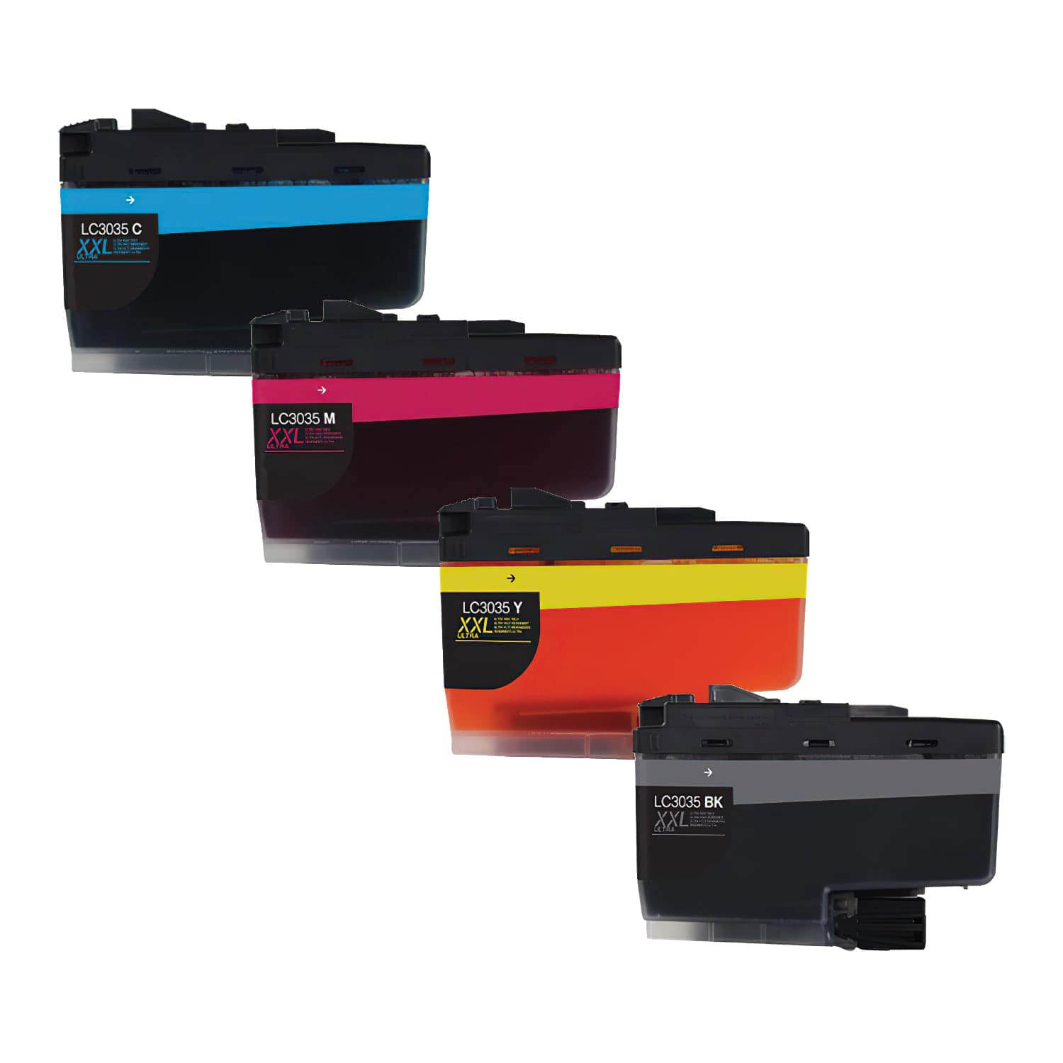 Compatible Brother LC3035 Inkjet Ultra High Capacity Pack - 4 Cartridges