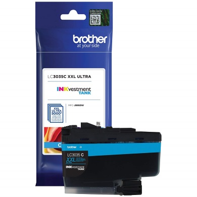 LC3035C Ink Cartridge - Brother Genuine OEM (Cyan)