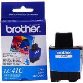 LC41C Ink Cartridge - Brother Genuine OEM (Cyan)