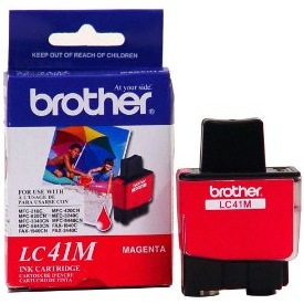 LC41M Ink Cartridge - Brother Genuine OEM (Magenta)