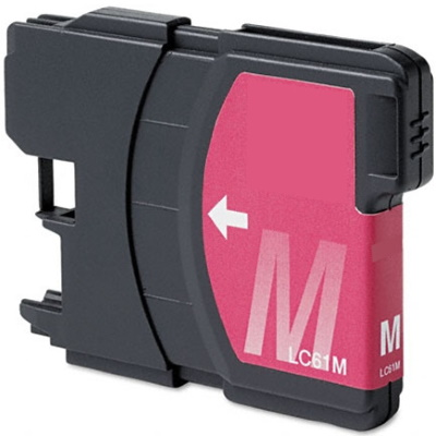 LC61M Ink Cartridge - Brother Compatible (Magenta)