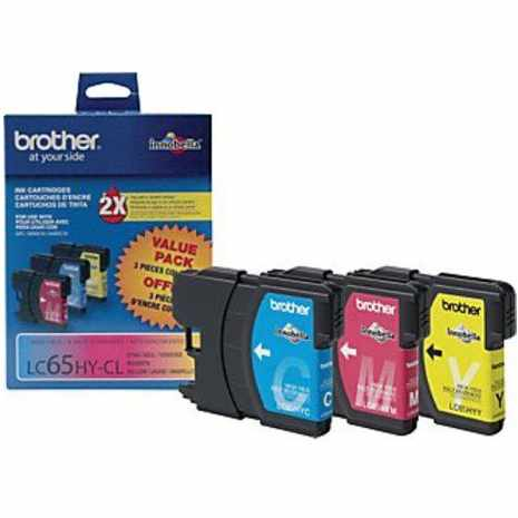 LC653PKS Ink Cartridge - Brother Genuine OEM (Bundle Pack)