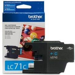 LC71C Ink Cartridge - Brother Genuine OEM (Cyan)
