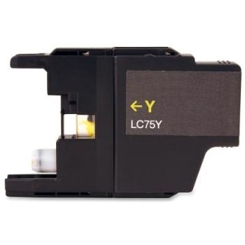 LC75Y Ink Cartridge - Brother Compatible (Yellow)