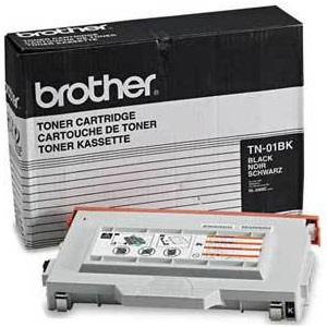 TN01BK Toner Cartridge - Brother Genuine OEM (Black)