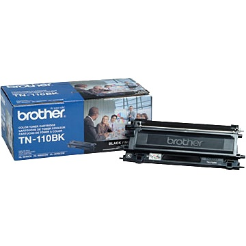 TN110BK Toner Cartridge - Brother Genuine OEM (Black)