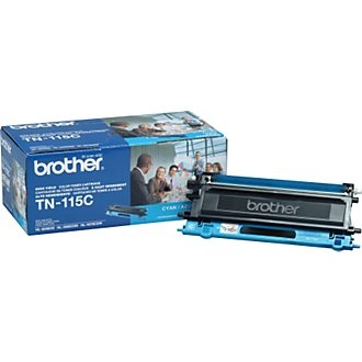 TN115C Toner Cartridge - Brother Genuine OEM (Cyan)