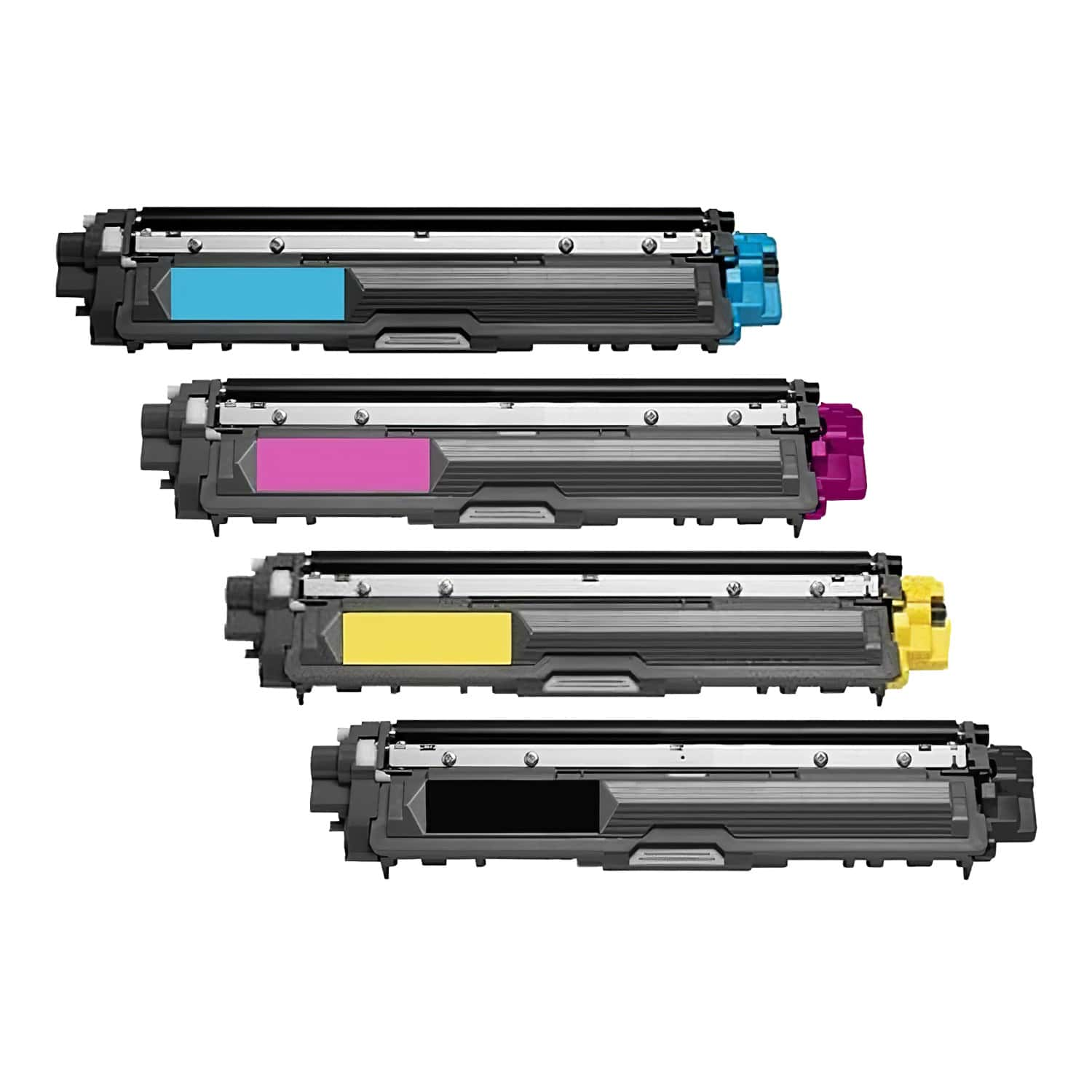 Compatible Brother TN225-TN221 Toner High Capacity Pack - 4 Cartridges