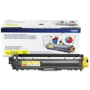 TN225Y Toner Cartridge - Brother Genuine OEM (Yellow)