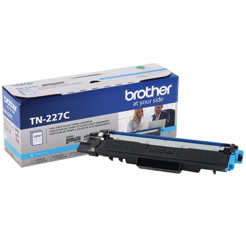 TN227C Toner Cartridge - Brother Genuine OEM (Cyan)