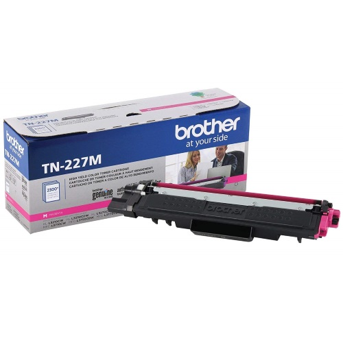 TN227M Toner Cartridge - Brother Genuine OEM (Magenta)