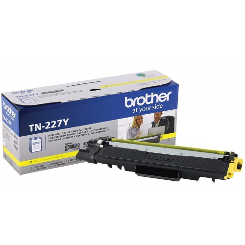 TN227Y Toner Cartridge - Brother Genuine OEM (Yellow)