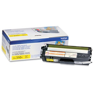 TN310Y Toner Cartridge - Brother Genuine OEM (Yellow)