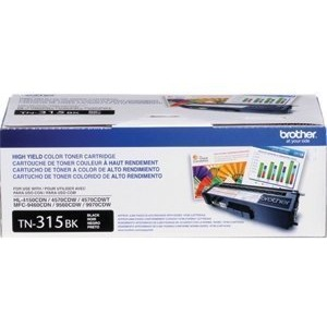 TN315BK Toner Cartridge - Brother Genuine OEM (Black)
