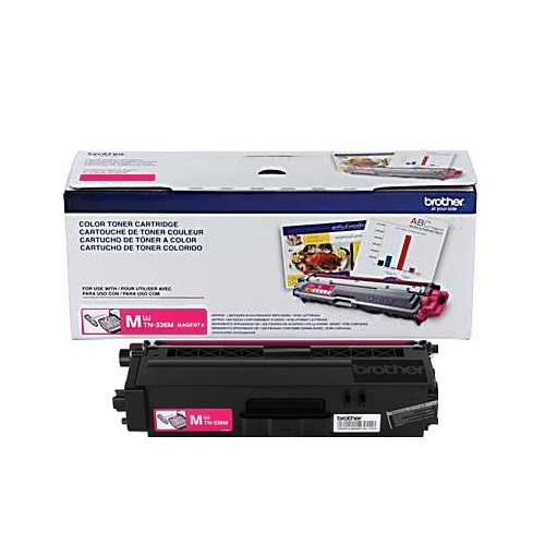 TN336M Toner Cartridge - Brother Genuine OEM (Magenta)