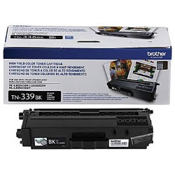 TN339BK Toner Cartridge - Brother Genuine OEM (Black)