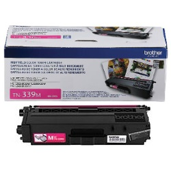 TN339M Toner Cartridge - Brother Genuine OEM (Magenta)