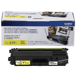 TN339Y Toner Cartridge - Brother Genuine OEM (Yellow)