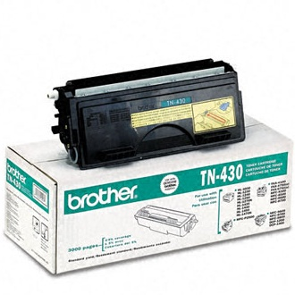 TN430 Toner Cartridge - Brother Genuine OEM (Black)