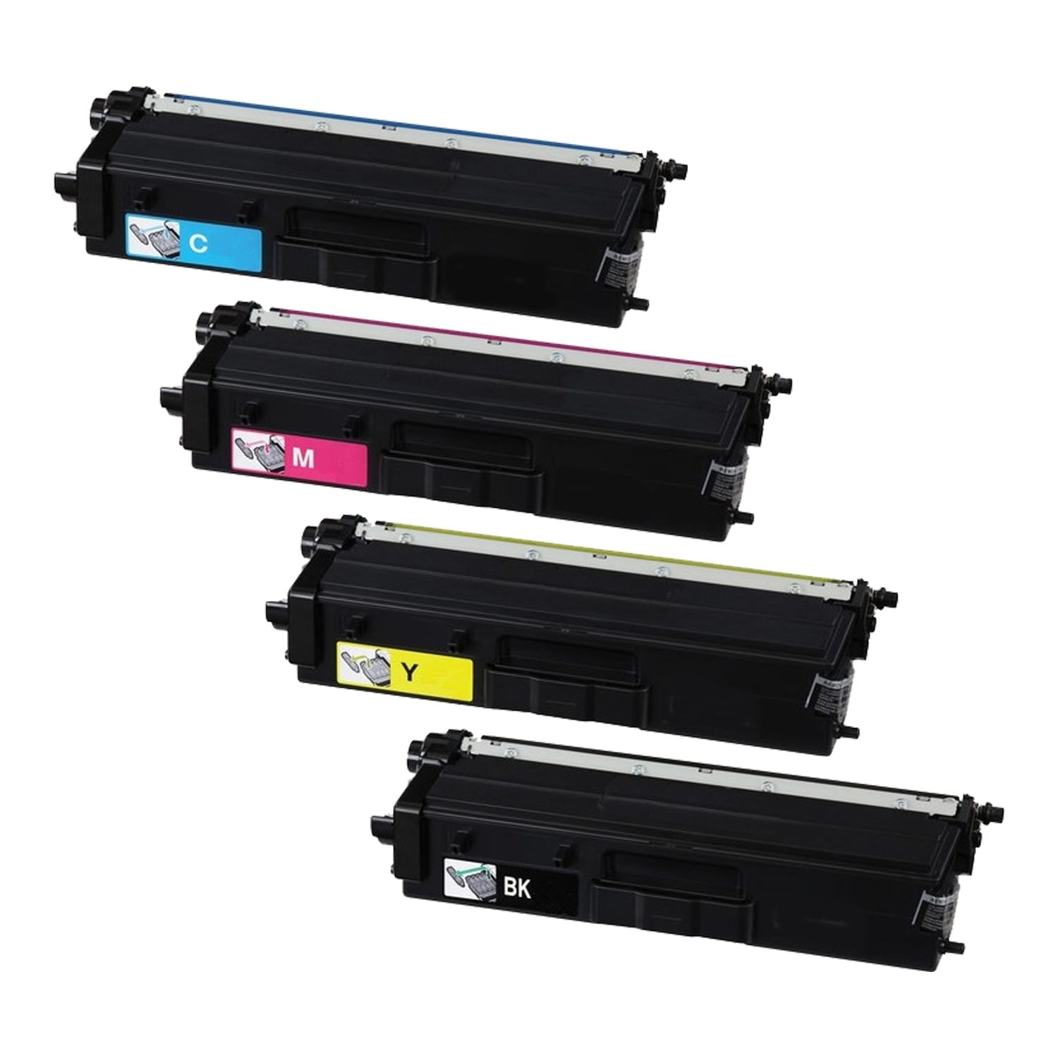 Compatible Brother TN439 Toner Ultra High Capacity Pack - 4 Cartridges