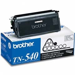 TN540 Toner Cartridge - Brother Genuine OEM (Black)