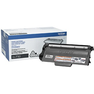 TN750 Toner Cartridge - Brother Genuine OEM (Black)