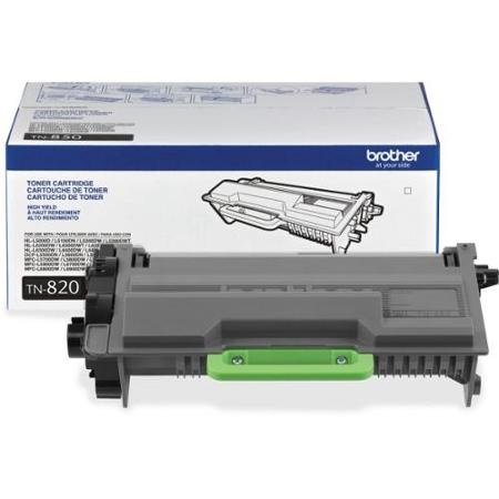 TN820 Toner Cartridge - Brother Genuine OEM (Black)