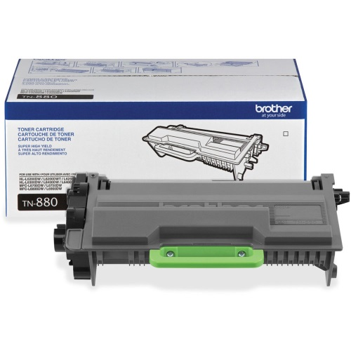 TN880 Toner Cartridge - Brother Genuine OEM (Black)